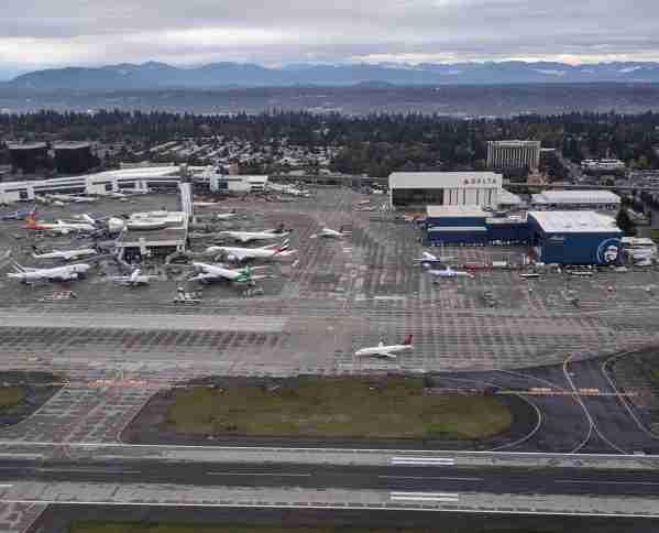 The Sea-Tac airport in Octoboer 2019 (Photo by Alberto Riva/The Points Guy)