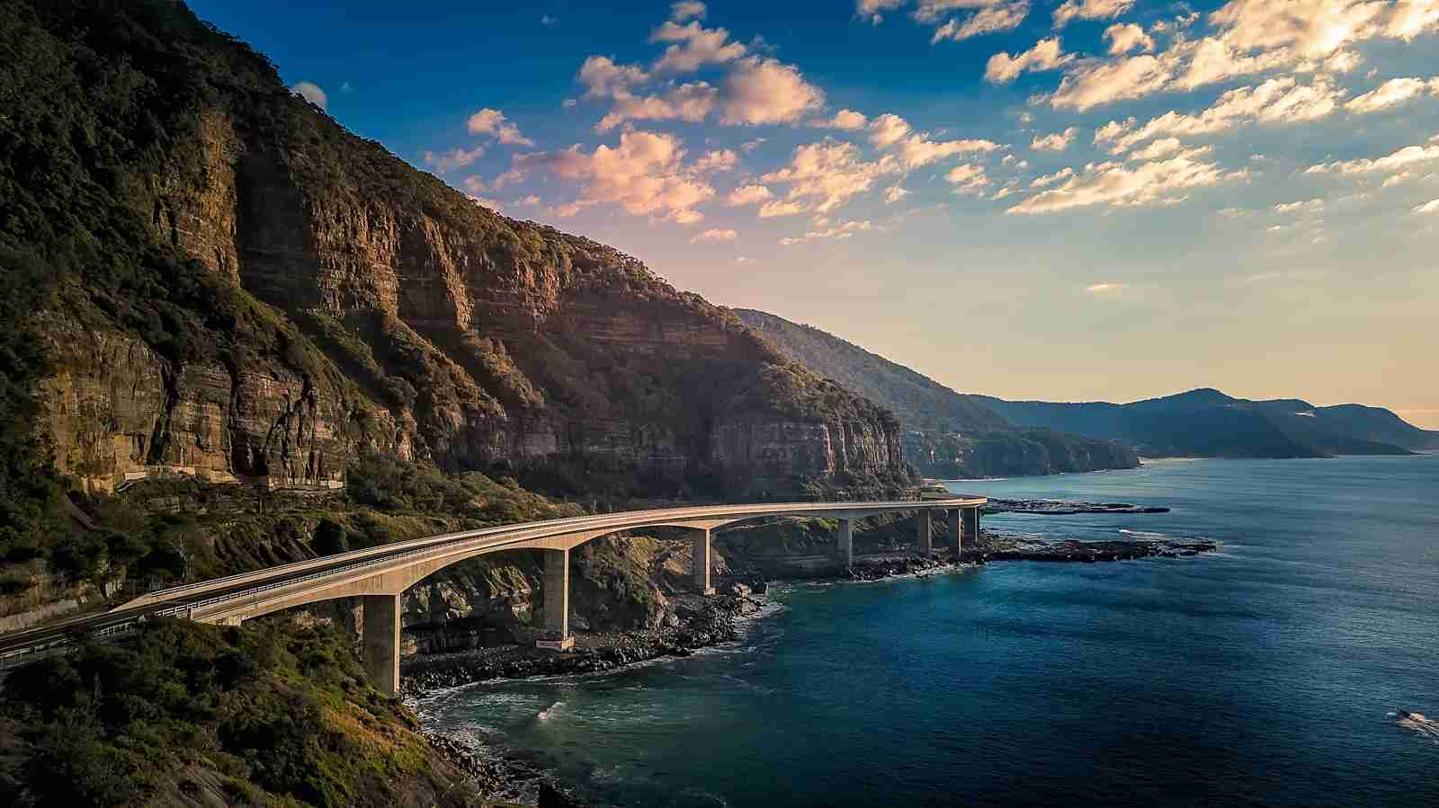 Sea Cliff Bridge in New South Wales. (Photo by alexroch/Shutterstock)