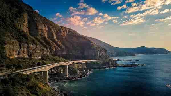 Sea Cliff Bridge in New South Wales. (Photo by alexroch/Shutterstock)