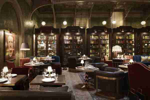 The Bar Room at The Beekman. (Photo courtesy of Thompson Hotels)