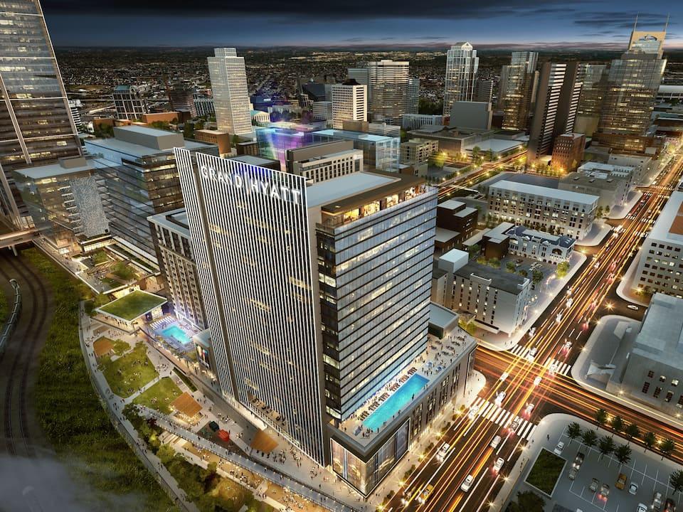 Grand Hyatt Nashville (Image courtesy of Hyatt)
