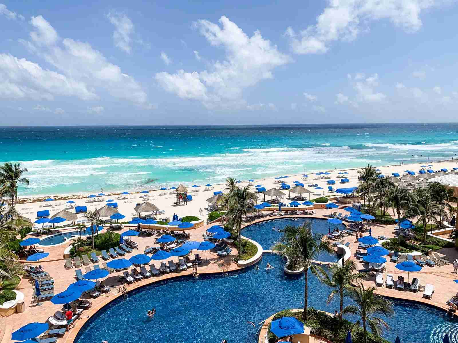 Ritz Carlton Cancun (Photo by Zach Griff / The Points Guy)
