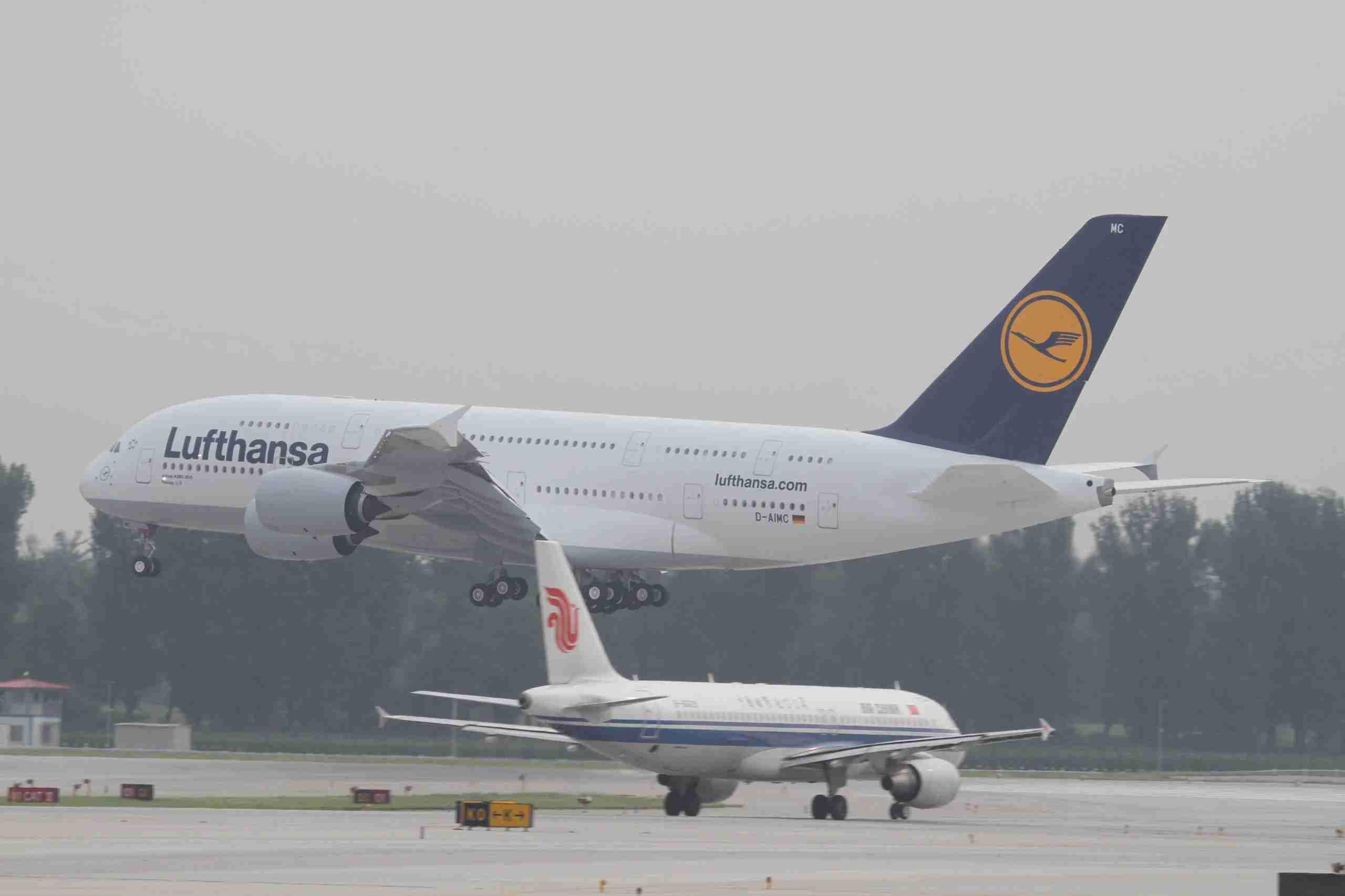BEIJING - SEPTEMBER 02: (CHINA OUT) Lufthansa