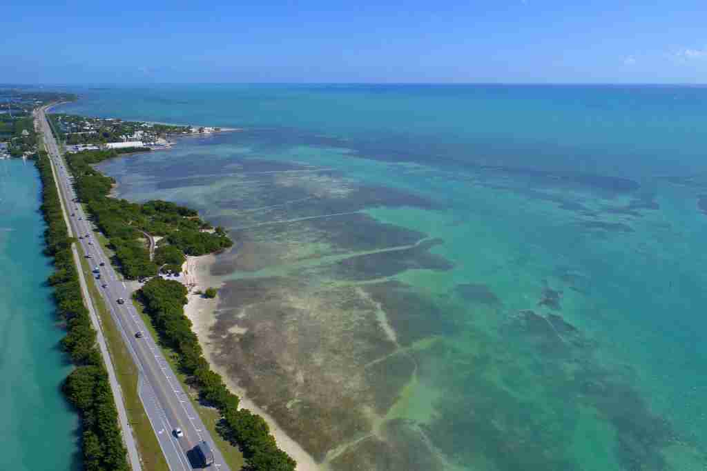 The Overseas Highway in the Florida Keys