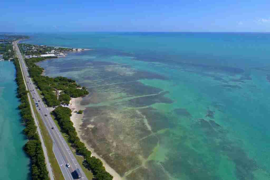 The Overseas Highway in the Florida Keys