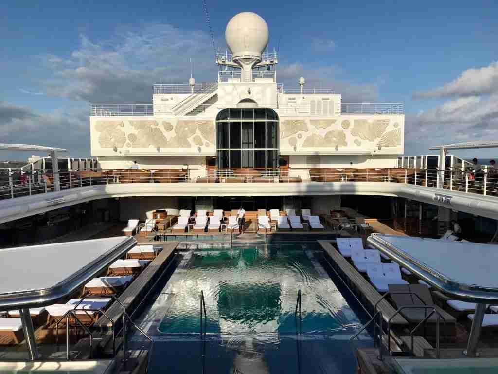 The focal point of Seven Seas Splendor