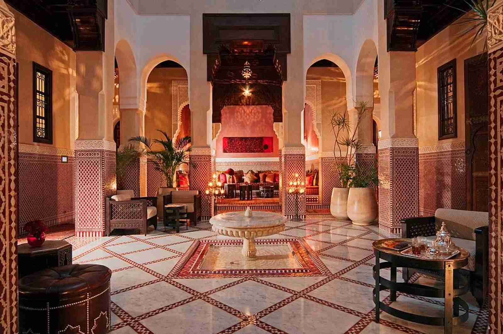 (Photo courtesy of the Royal Mansour)