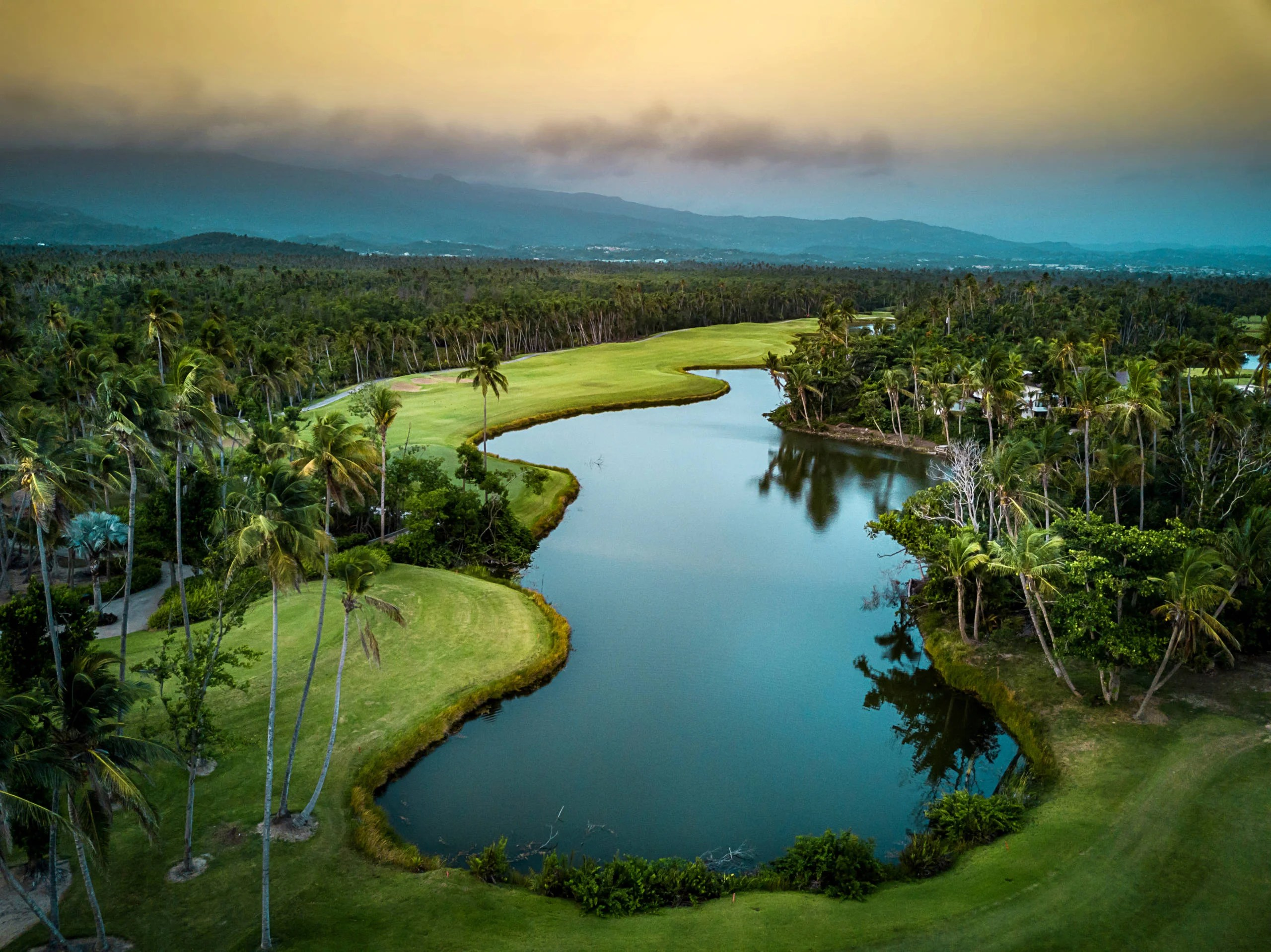 The golf course at St. Regis Bahia Beach (Photo courtesy of the resort)