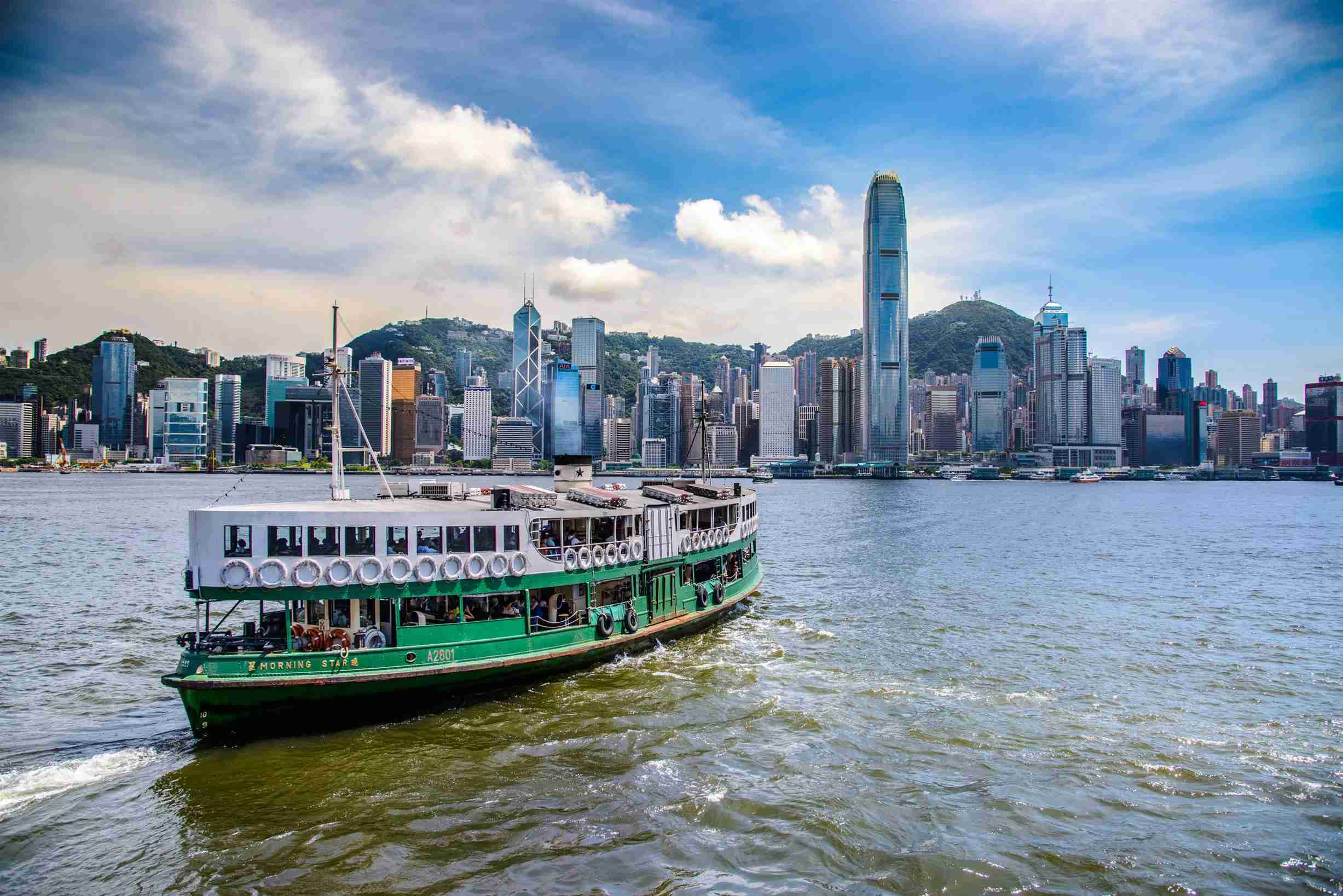 Star Ferry (Photo courtesy of the Hong Kong Tourism Board)