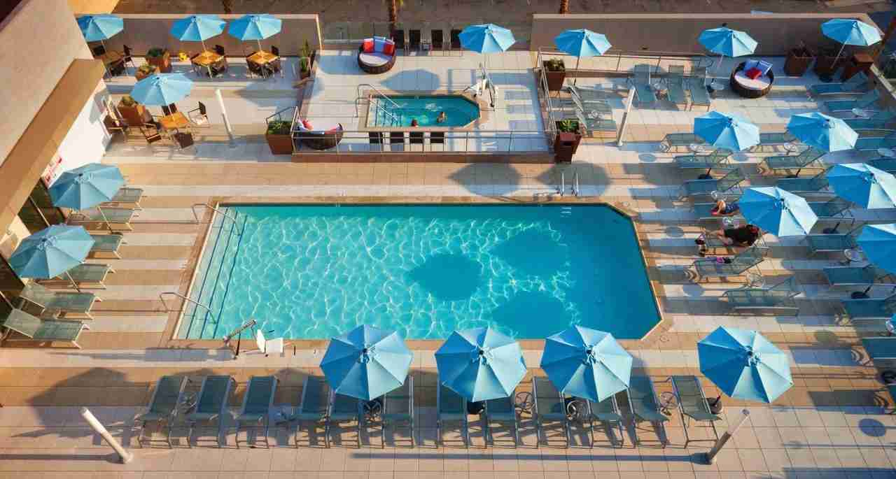 The pool at Hyatt House Anaheim. (Photo courtesy of Booking.com)
