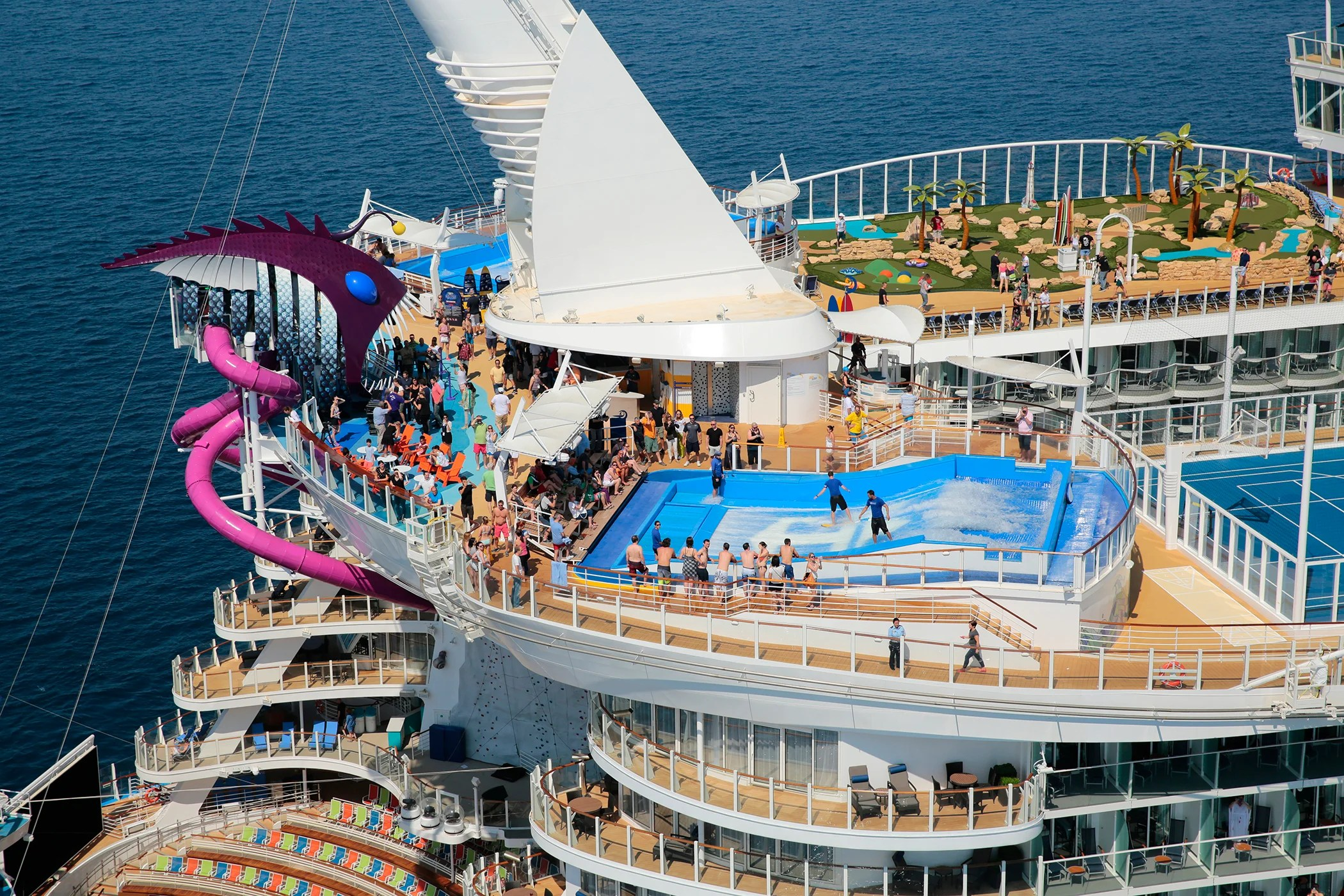 Steaks Galore & Skydiving: The Craziest Attractions You'll Find On A Cruise - cover