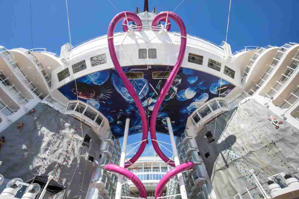Launch of Symphony of the Seas, Royal Caribbean International's newest and largest ship.