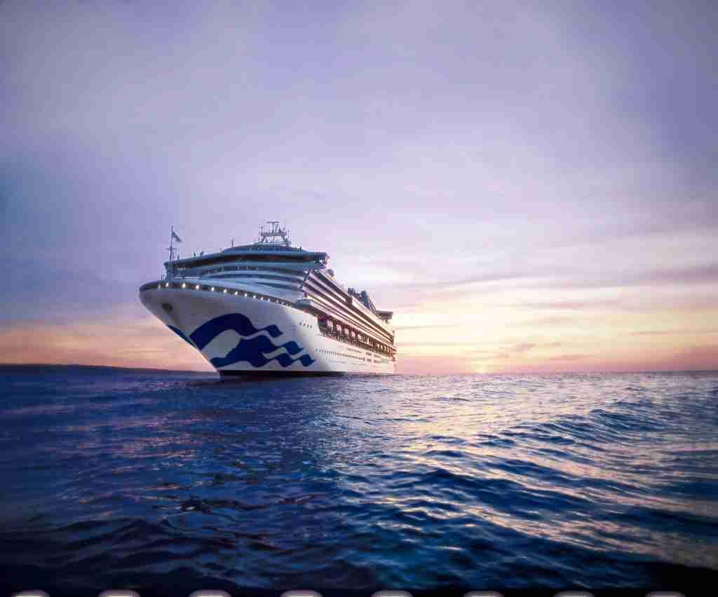 A Princess Cruises ship. (Photo courtesy of Princess Cruises)