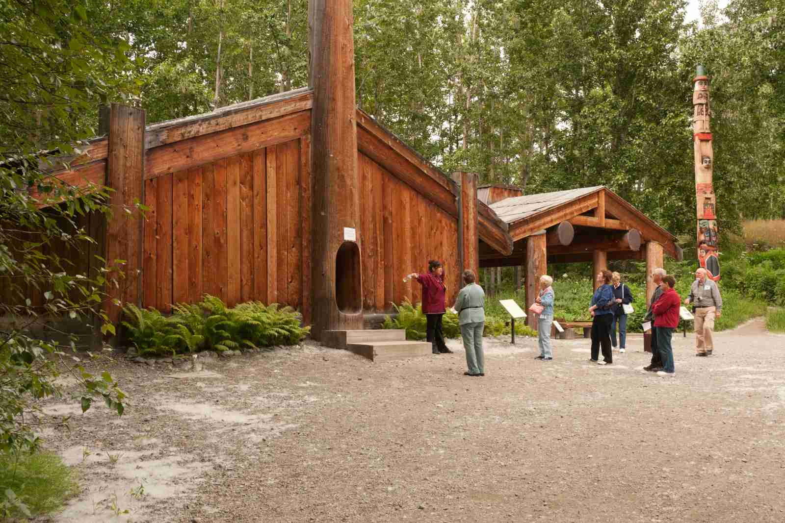 The Alaska Native Heritage Center. (Photo by John Elk/Getty Images)
