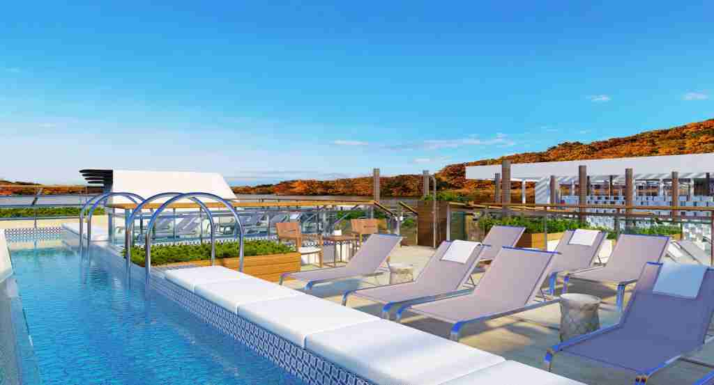A deck-top pool is among the features that will be found on Viking