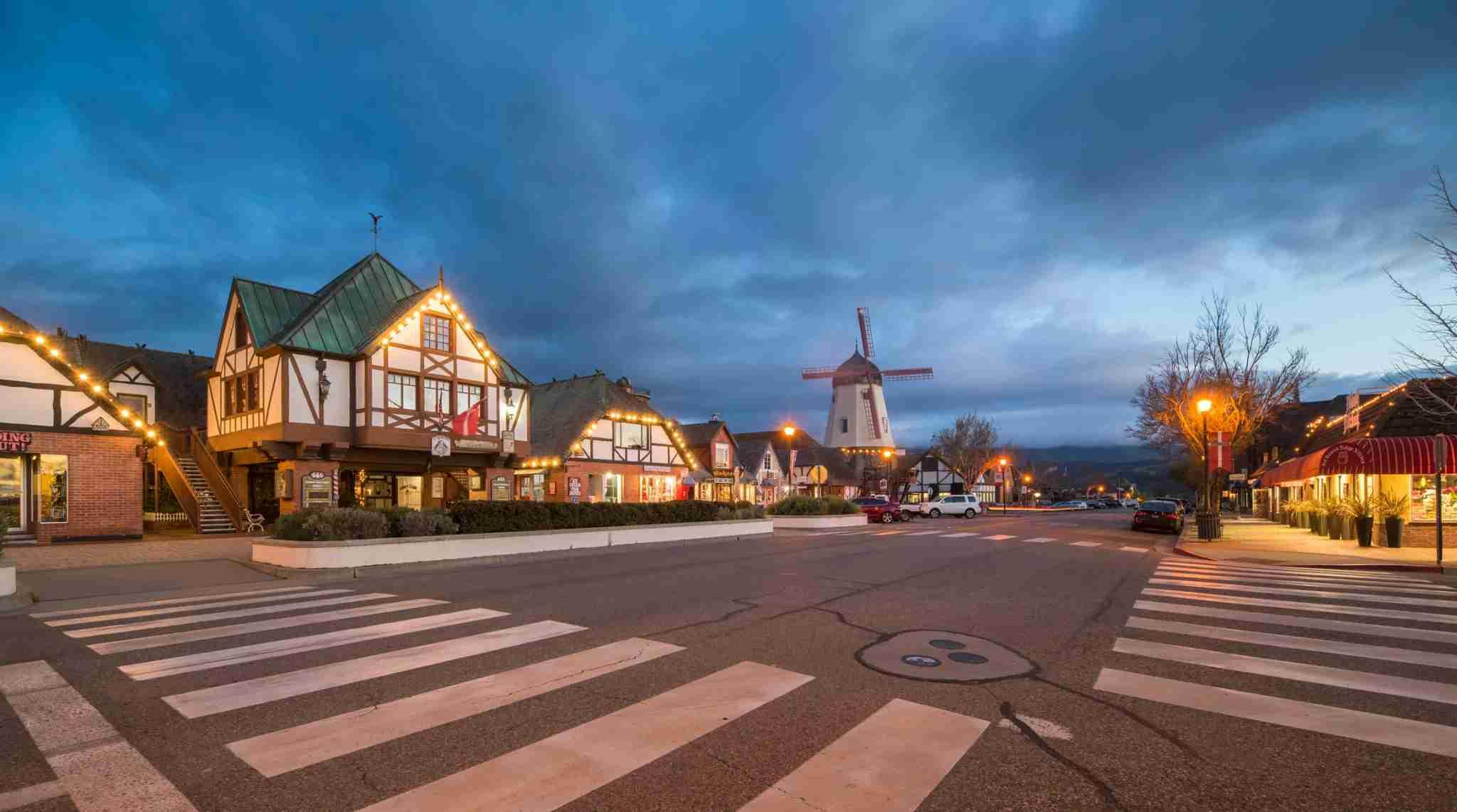 Solvang is a quaint California town near Santa Barbara. (Photo by HaizhanZheng/Getty Images)