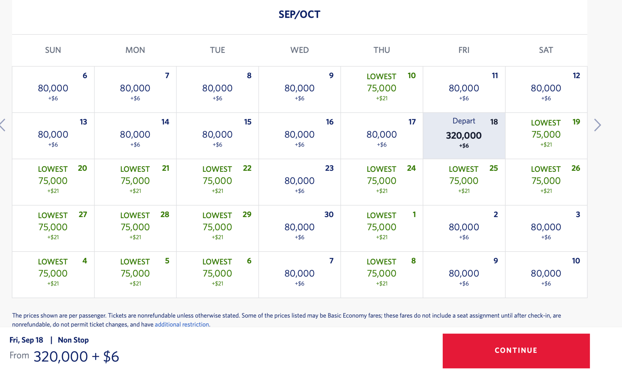 JFK FRA Pricing Delta