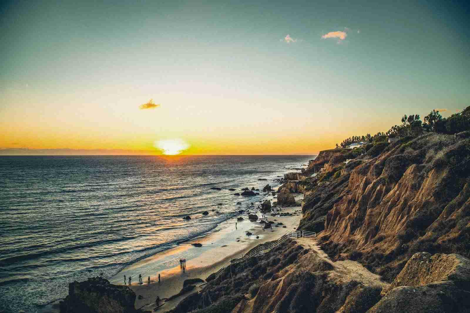 El Matador State Beach in Malibu. (Photo by Changseop Lee/EyeEm/Getty Images)