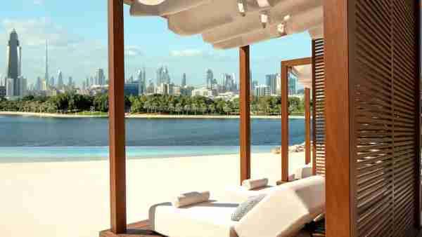 Beach at the Park Hyatt Dubai