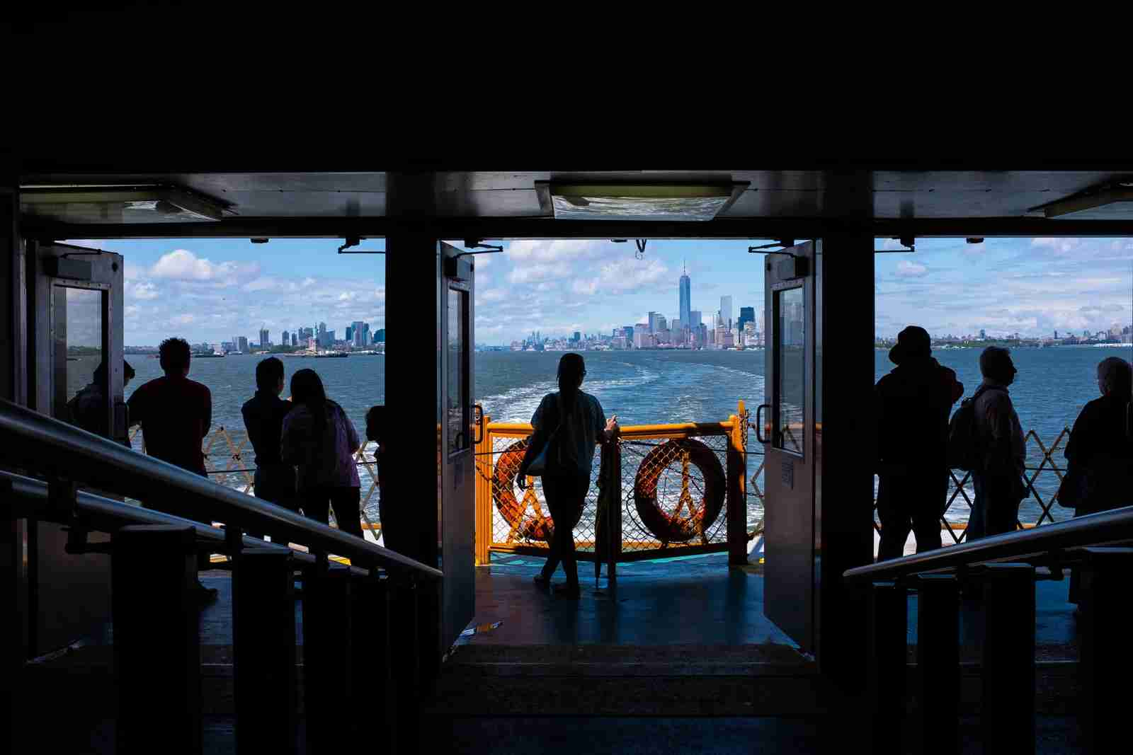 The Staten Island Ferry. (Photo by Brian Eden/Getty Images)