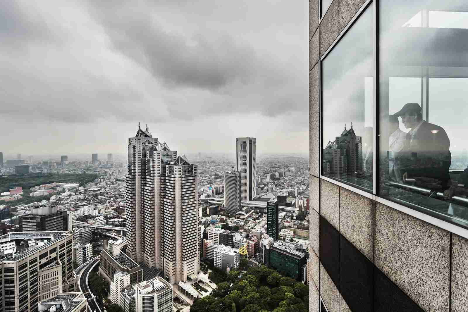The Tokyo Metropolitan Government Building Observatories. (Photo by Atlantide-Phototravel/Getty Images)