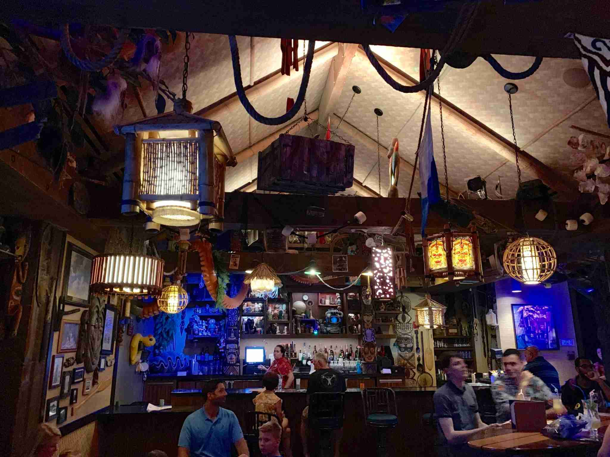 Have a drink at Trader Sam