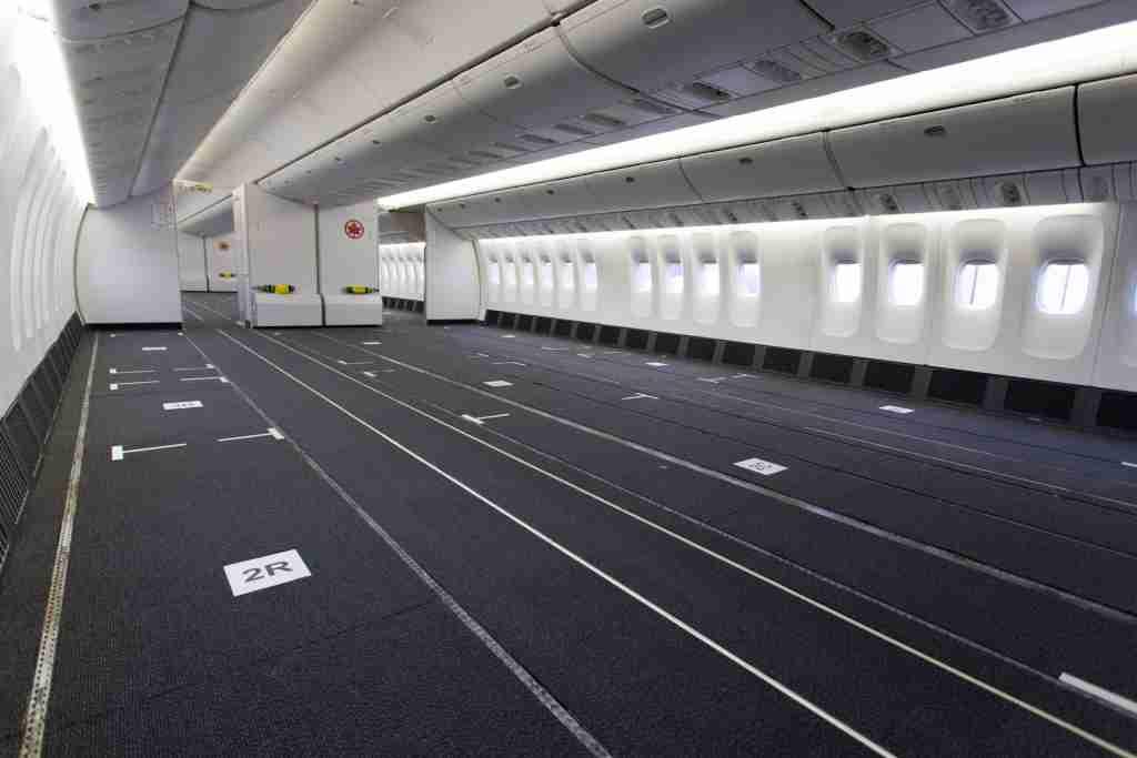 Air Canada reconfigured Boeing 777-300ER aircraft