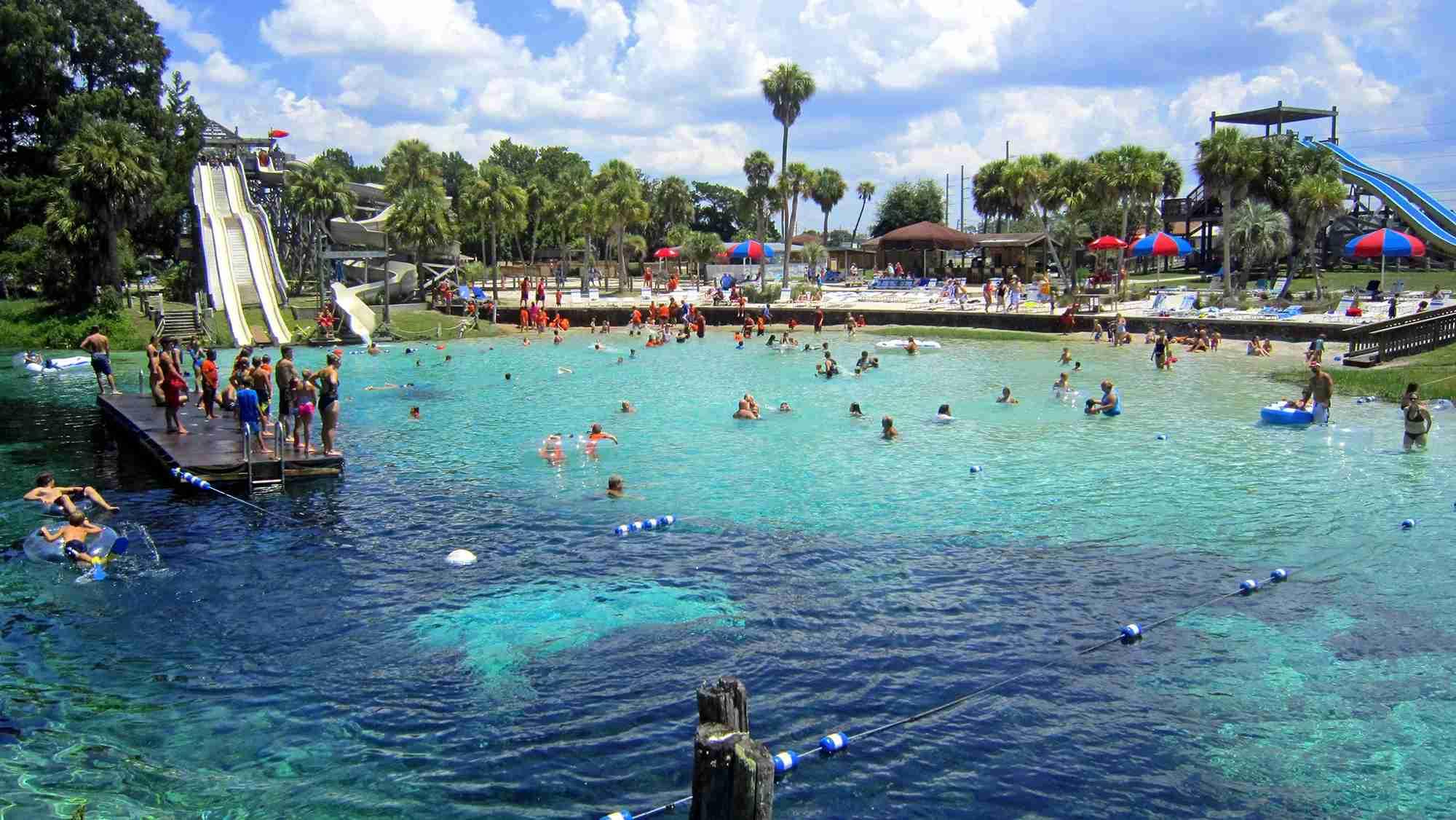 Weeki Wachee Buccaneer Bay Water Park Florida