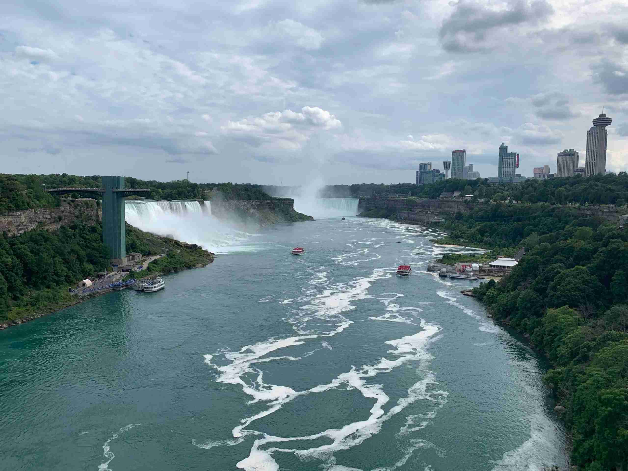 Niagara Falls on the U.S./Canada border July 2019. (Photo by Clint Henderson/The Points Guy)