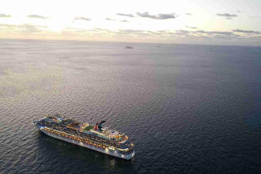 The Galveston, Texas-based Carnival Dream is among the Carnival Cruise Line ships that the line says will resume service in August. (Photo courtesy of Carnival Cruise Line).