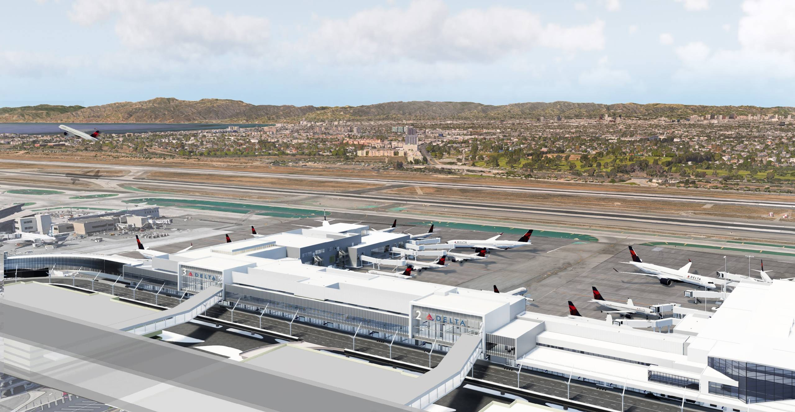 Delta uses coronavirus as opportunity to speed airport projects