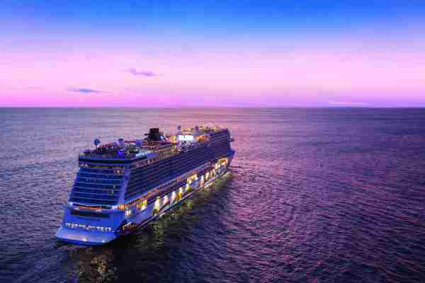 Norwegian Cruise Line operates some of the newest ships in the cruise business, including the just unveiled, 4,004-passenger Norwegian Encore. (Photo courtesy of Norwegian Cruise Line)