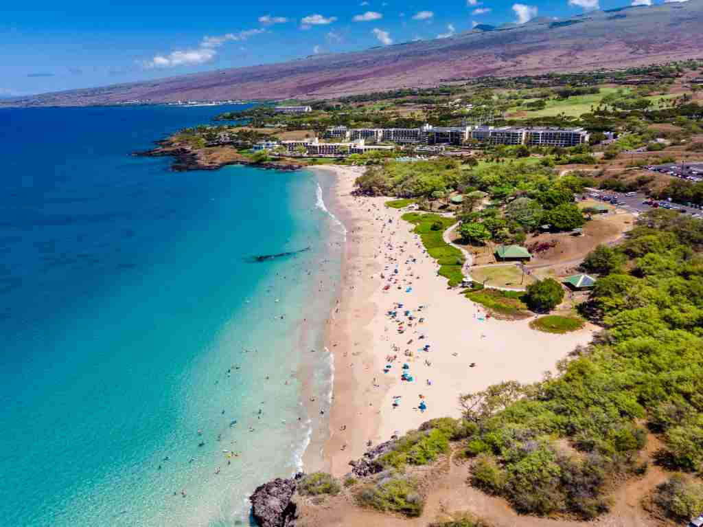 Hapuna Beach, Big Island, Hawaii