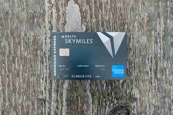 American Express Delta SkyMiles Reserve Card. (Photo by Clint Henderson/The Points Guy)