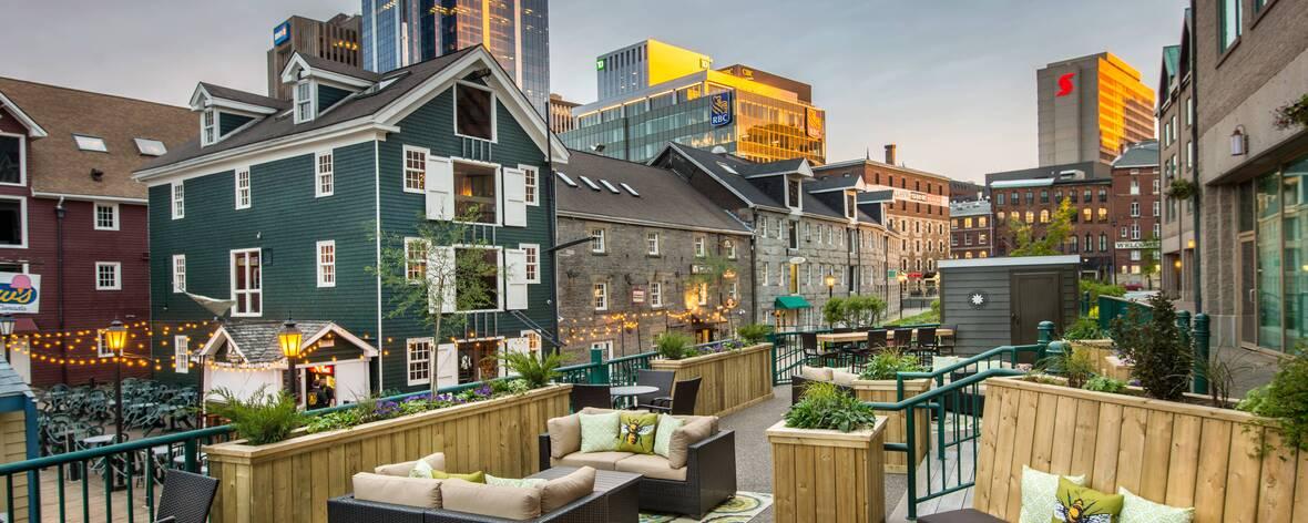Marriott Halifax Rooftop Bar