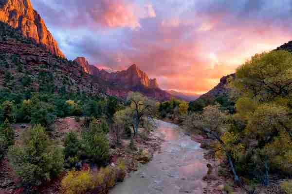 The Watchman at Zion National Park. (Photo by Justin Reznick Photography/Getty Images)