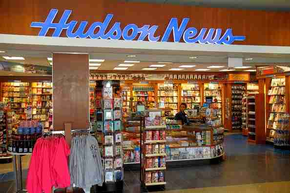 Hudson News in Logan International Airport. (Photo by: Jeffrey Greenberg/Universal Images Group via Getty Images)