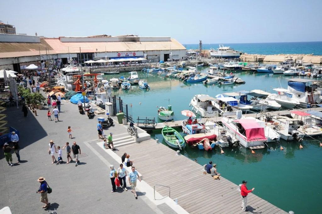 Tel Aviv Jaffa port Israel