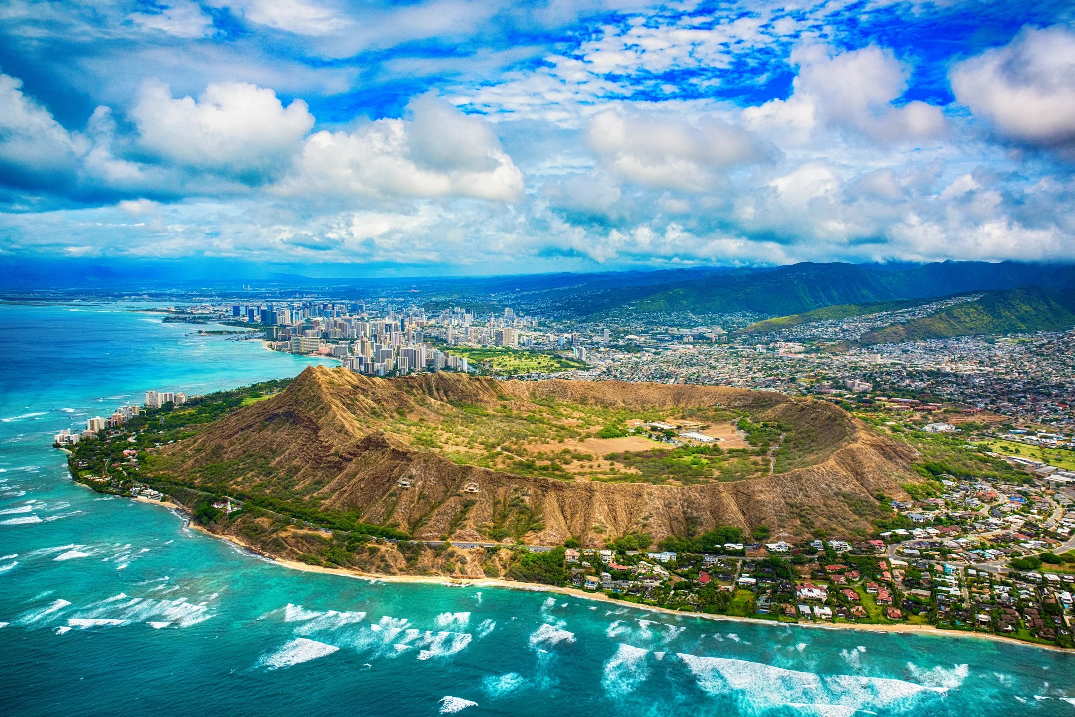 Hiking Oahu's Diamond Head