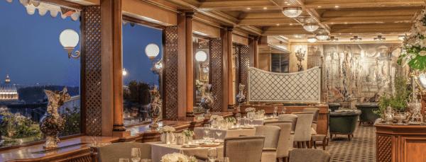La Pergola restaurant interior