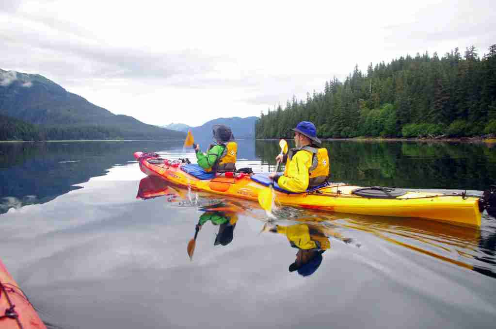 Kayaking will be among the allures that visitors to Juneau will be able to do this summer. (Photo courtesy of Travel Alaska).