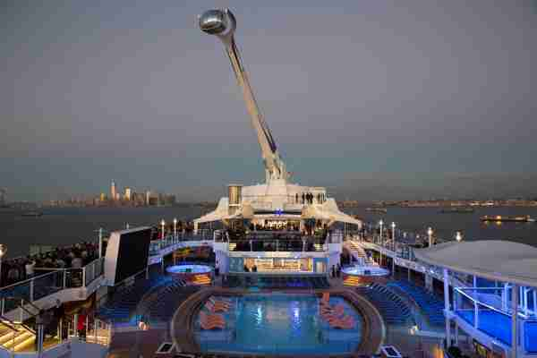 The North Star attraction on Royal Caribbean