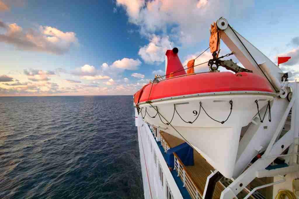 cruise lifeboat