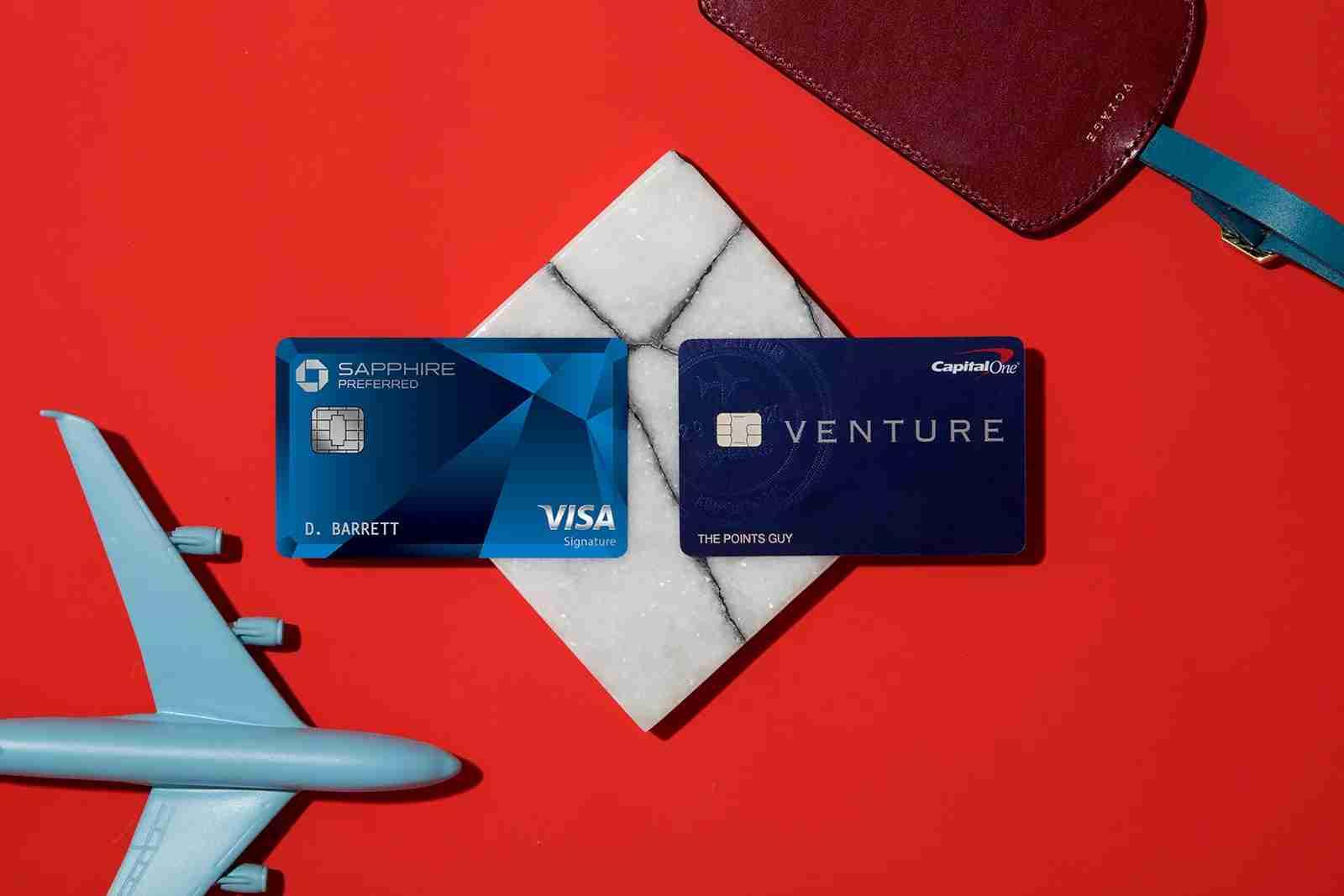Chase Sapphire Preferred + Capital One Venture Rewards