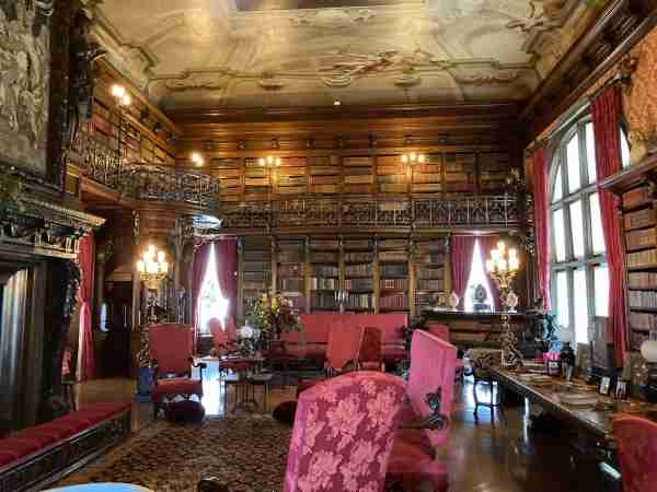 The library of the Biltmore Estate