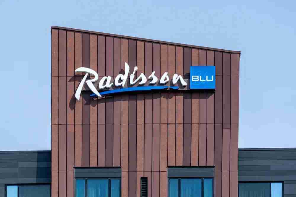 Radisson Blu Sign in Minnesota