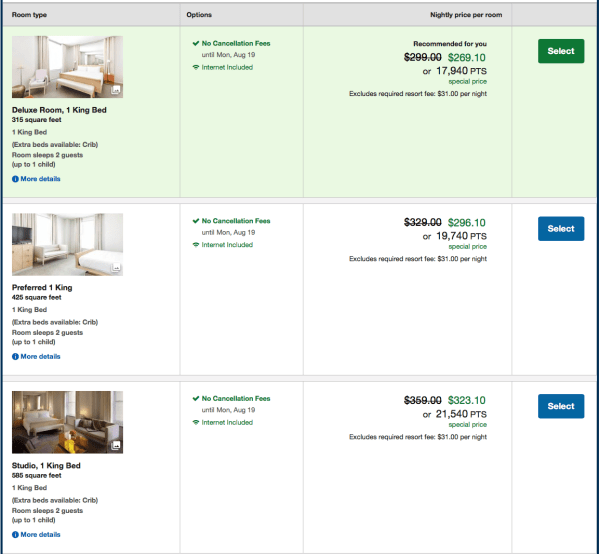 This hotel is bookable with Chase Ultimate Rewards points through Chase