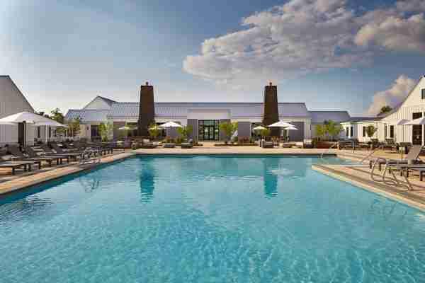 Miraval Berkshires pool