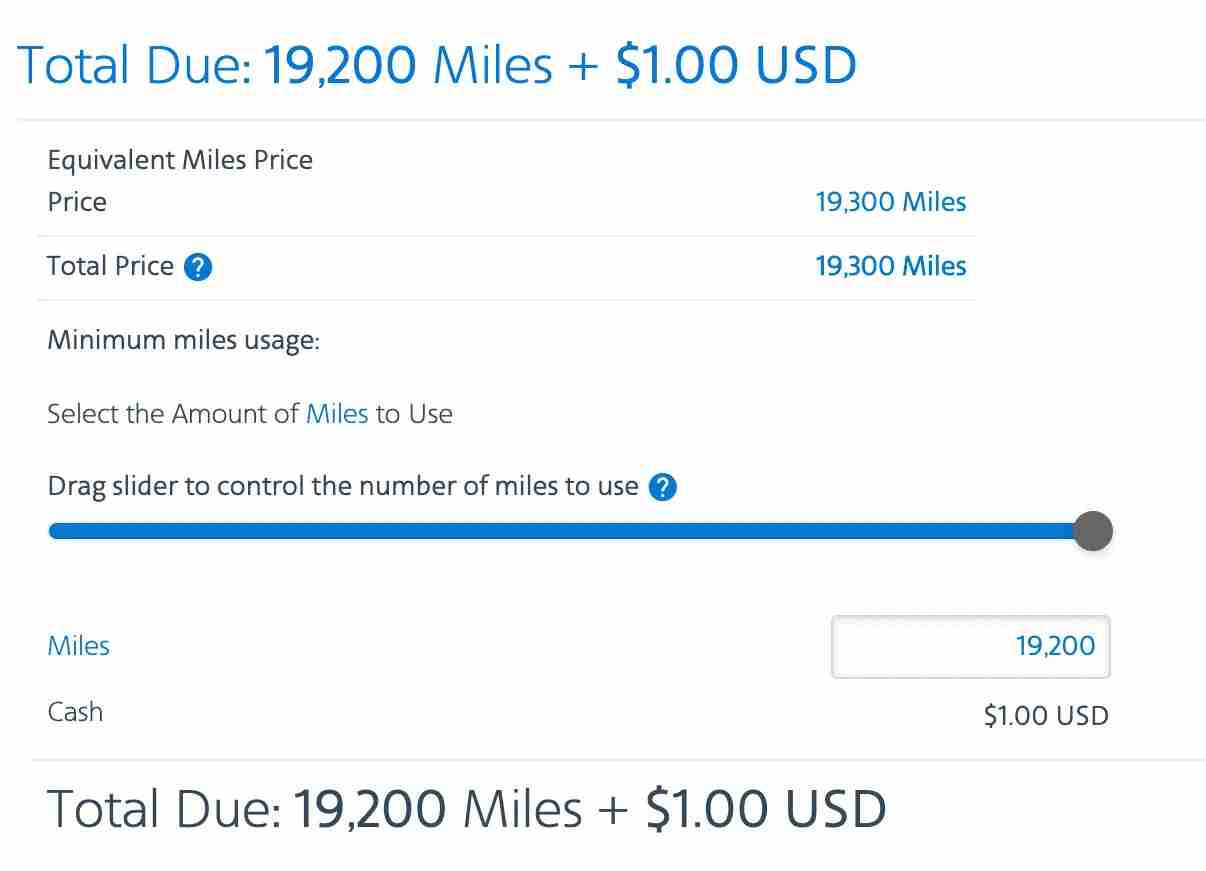 AAdvantage rental car points cash