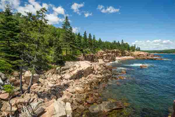 Acadia National Park near Bar Harbor, Maine. (Photo by Edwin Remsberg/Getty Images)